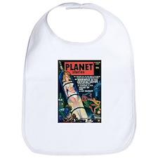 PLANET STORIES-VINTAGE PULP MAGAZINE COVER Bib