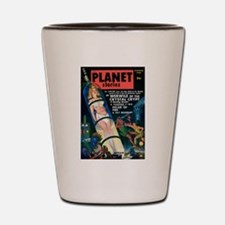 PLANET STORIES-VINTAGE PULP MAGAZINE COVER Shot Gl