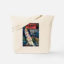 PLANET STORIES-VINTAGE PULP MAGAZINE COVER Tote Ba