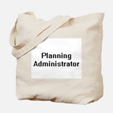Planning Administrator Retro Digital Job Tote Bag