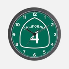 Route 4, California Wall Clock