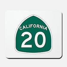 Route 20, California Mousepad
