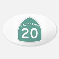 Route 20, California Decal