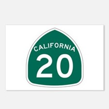 Route 20, California Postcards (Package of 8)