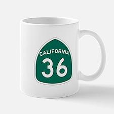 Route 36, California Mug