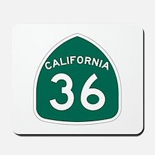 Route 36, California Mousepad