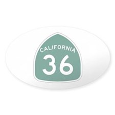 Route 36, California Decal