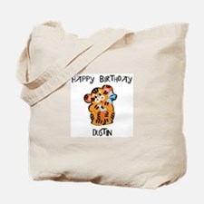 Happy Birthday Dustin (tiger) Tote Bag