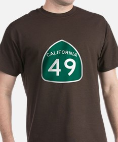 Route 49, California T-Shirt