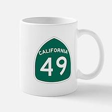 Route 49, California Mug