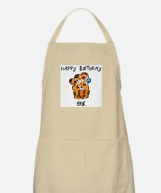 Happy Birthday Erik (tiger) BBQ Apron