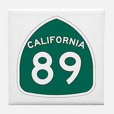 Route 89, California Tile Coaster