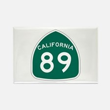 Route 89, California Rectangle Magnet