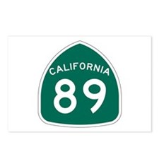 Route 89, California Postcards (Package of 8)