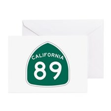 Route 89, California Greeting Cards (Pk of 10)