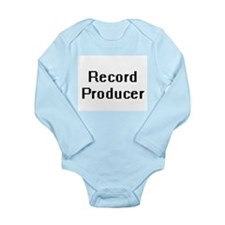 Record Producer Retro Digital Job Design Body Suit