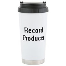 Record Producer Retro D Travel Mug