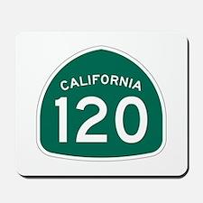 Route 120, California Mousepad