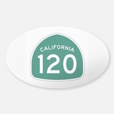 Route 120, California Decal