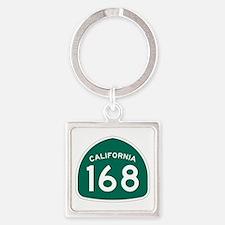 Route 168, California Square Keychain