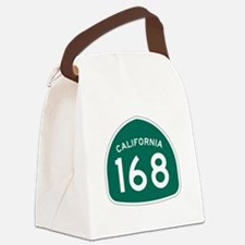 Route 168, California Canvas Lunch Bag