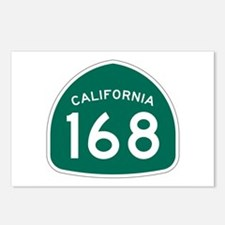 Route 168, California Postcards (Package of 8)