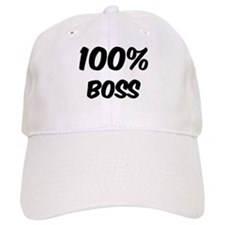100 Percent Boss Baseball Cap