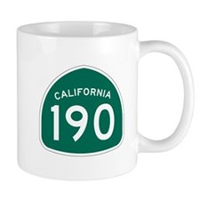 Route 190, California Mug
