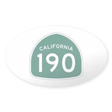 Route 190, California Decal