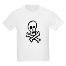 Skull And Crossbones Cute T-Shirt