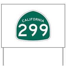 Route 299, California Yard Sign