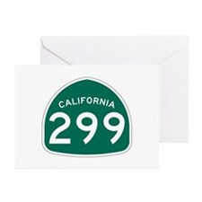 Route 299, California Greeting Cards (Pk of 10)