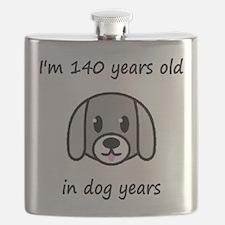 20 dog years 2 Flask
