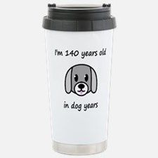 20 dog years 2 Travel Mug
