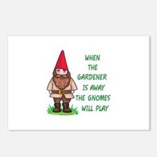 THE GNOMES WILL PLAY Postcards (Package of 8)