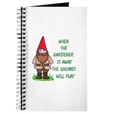 THE GNOMES WILL PLAY Journal