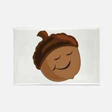 Smiling Acorn Magnets
