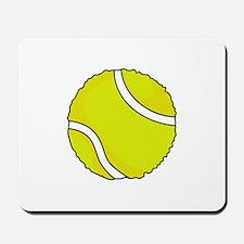 FUZZY TENNIS BALL Mousepad