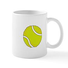 FUZZY TENNIS BALL Mugs