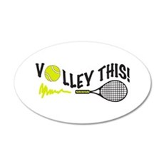 VOLLEY THIS Wall Decal