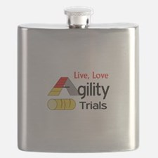LIVE LOVE AGILITY TRIALS Flask