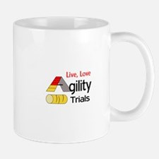 LIVE LOVE AGILITY TRIALS Mugs