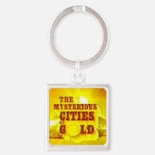Funny Mysterious Square Keychain