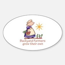 BACKYARD FARMERS Decal