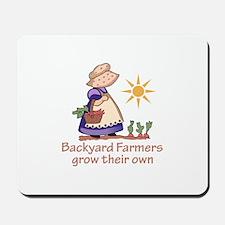 BACKYARD FARMERS Mousepad