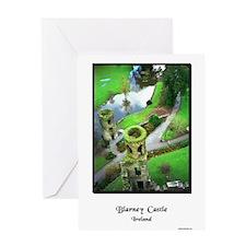 Cute Blarney castle Greeting Card