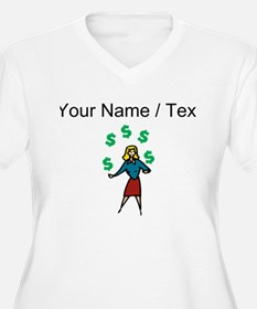 Juggling Money (Custom) Plus Size T-Shirt