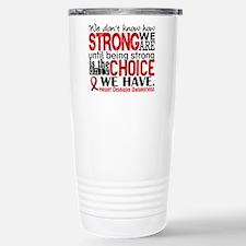 Heart Disease How Stron Stainless Steel Travel Mug