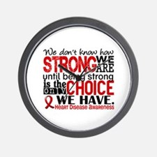Heart Disease How Strong We Are Wall Clock