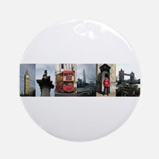 London Sights Ornament (Round)